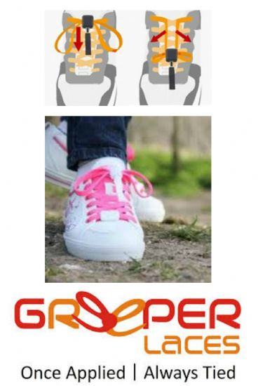 Greeper Laces - Easy Tie Laces that Stay Put!